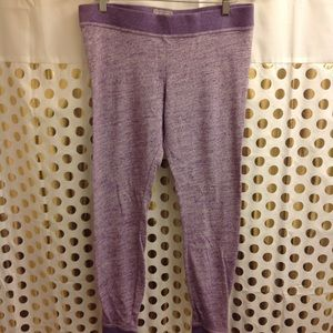 UGG jogger Lounge Pants L purple EUC